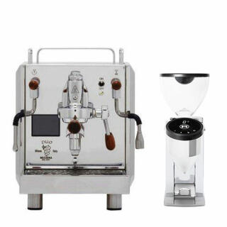 Bezzera Duo Top MN Dualboiler + Rocket Faustino Chrom